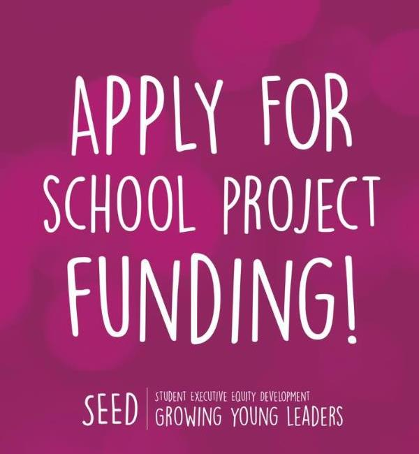 Apply for school project funding