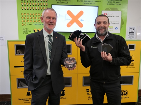 Launceston Takes Out Mobile Phone Recycling Award The National Tribune