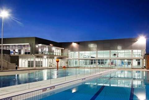 Exterior of Leisure and Aquatic Centre
