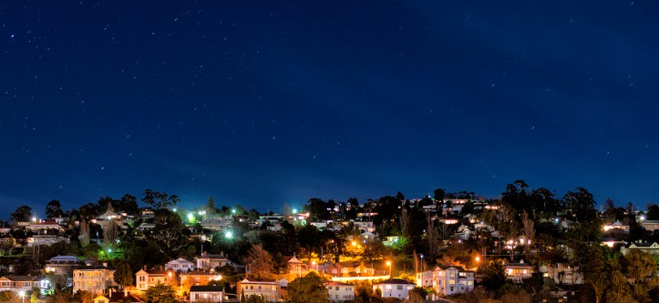 Launceston - Night View
