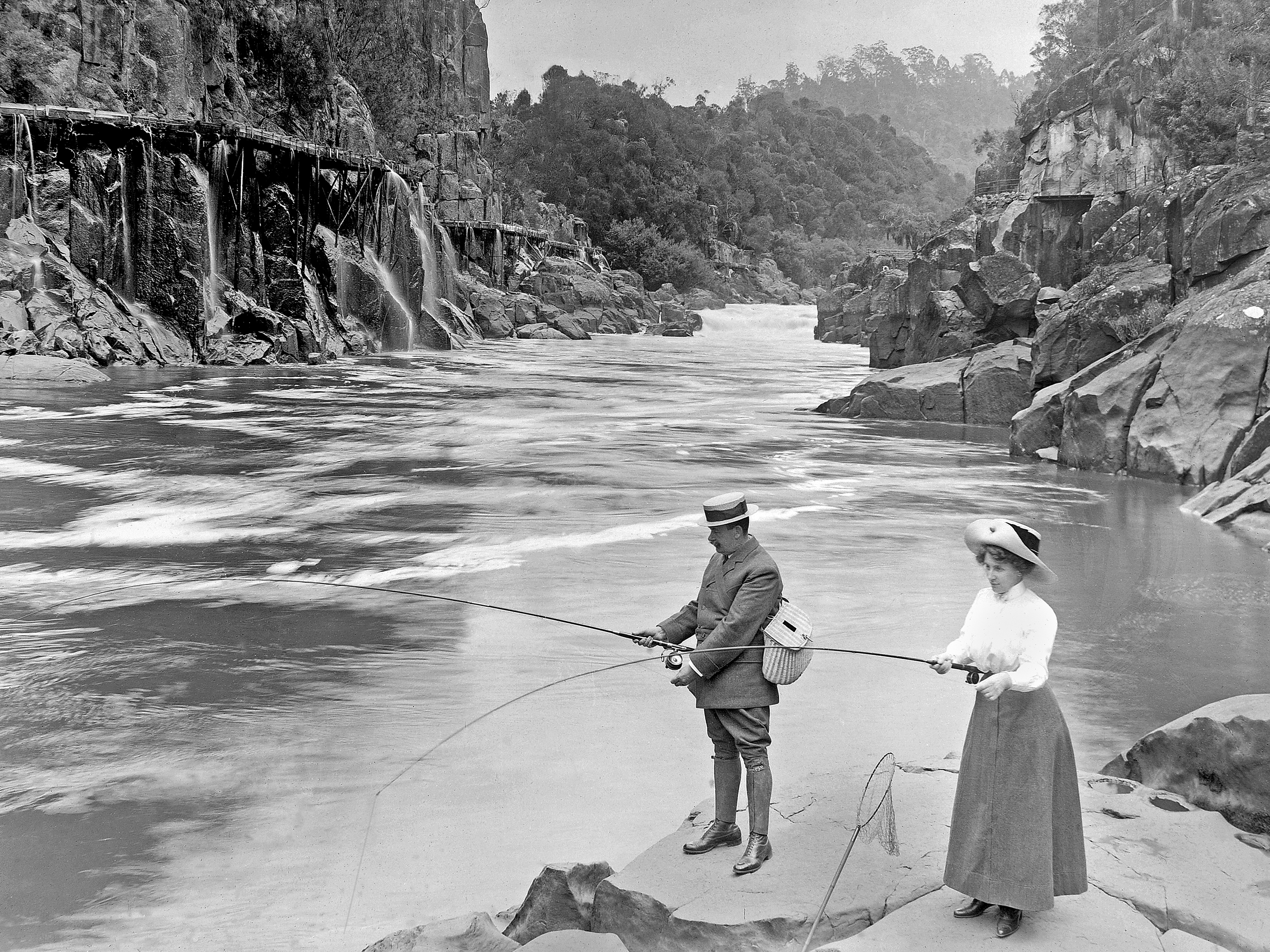 Fishing in the Gorge